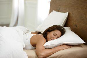 almohadas para dormir boca abajo
