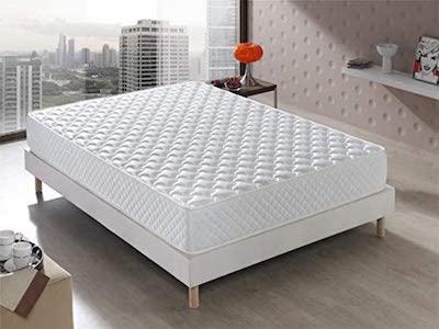 Colchón Senator Viscoelástico 90x190x20 cm. Confort de Hotel, Reversible barato